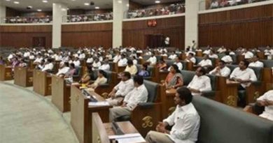 Andhra Pradesh assembly started budget session from today