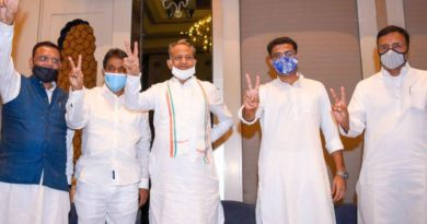 Rajasthan MLAs to remain