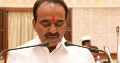 Telangana Health Minister E Rajender