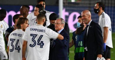 Real Madrid asserted La Liga