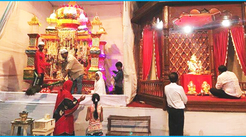 Ganesh Puja takes