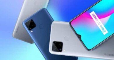 Realme C12 smartphone