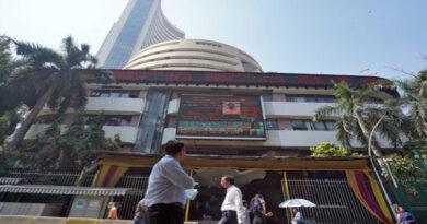 Sensex breaks over