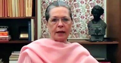 Sonia Gandhi said