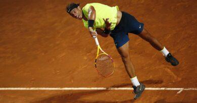Rafael Nadal reached