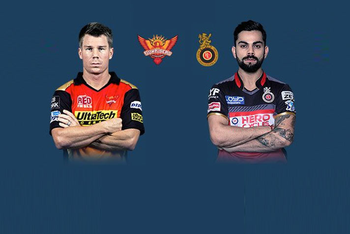 RCB vs SRH IPL: Live Streaming Online And Telecast Of The ...