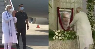 Tribute paid to Keshubhai Patel