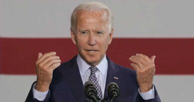 Biden reaches victory
