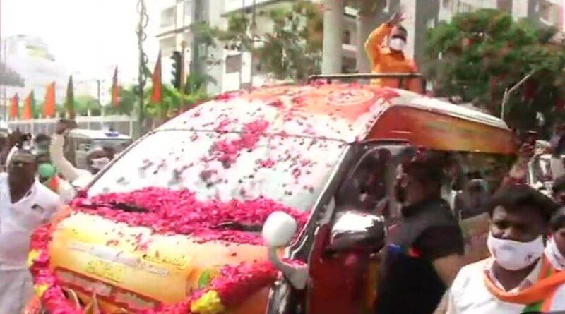 Tamil Nadu BJP president starts