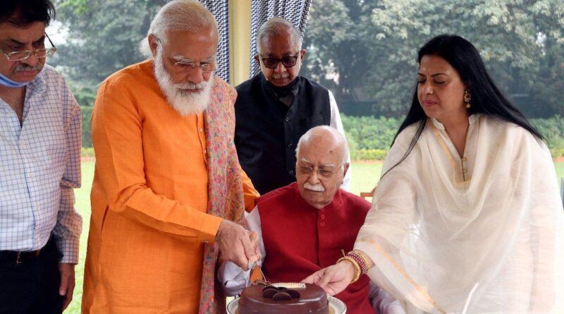 LK Advani's birthday