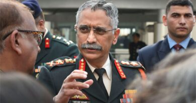 Army Chief Narwane reached