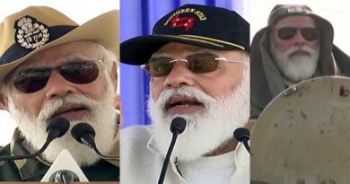 PM Modi Celebrating