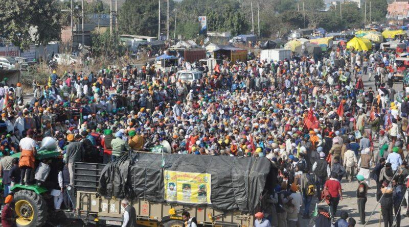 Farmers agitation raised concern