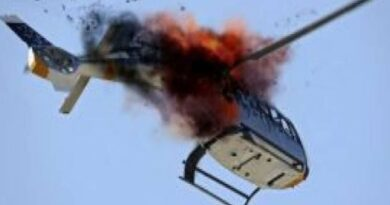 Pakistani army helicopter crash
