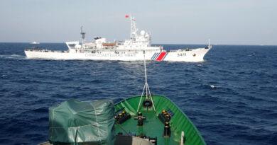 China allowed Coast Guard