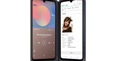 LG G8X two-screen