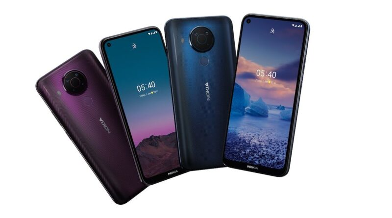 Nokia 5.4 smartphone's