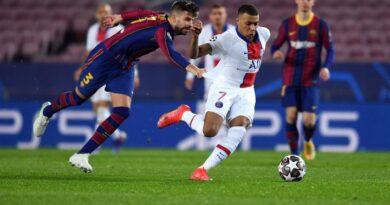 PSG thrashed Barcelona