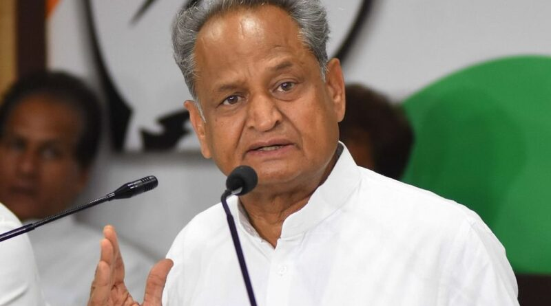 Gehlot engaged in persuading