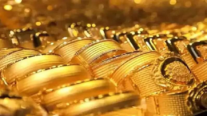 Gold import decreased
