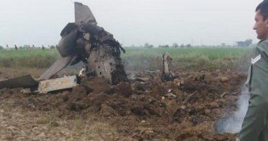 MiG-21 crashed