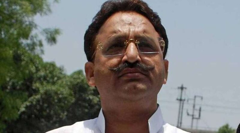 Mukhtar Ansari to be shifted