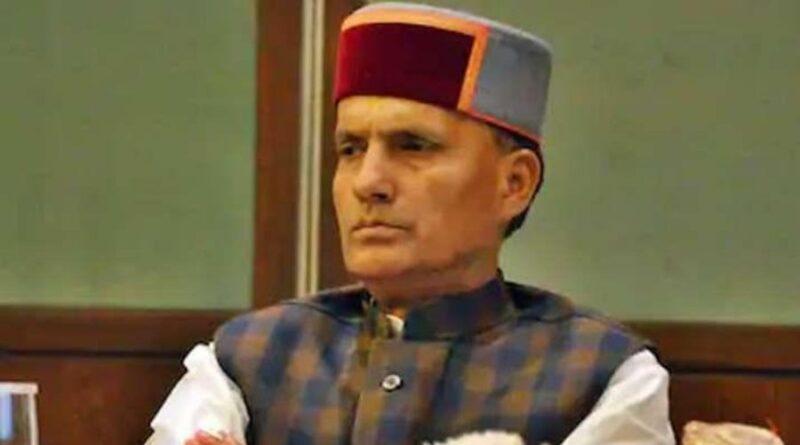 BJP MP from Himachal Pradesh