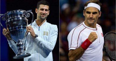 Novak Djokovic equals