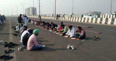 Silence resurfacing at Singhu border