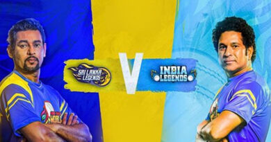 Sri Lanka Legends Vs India Legends