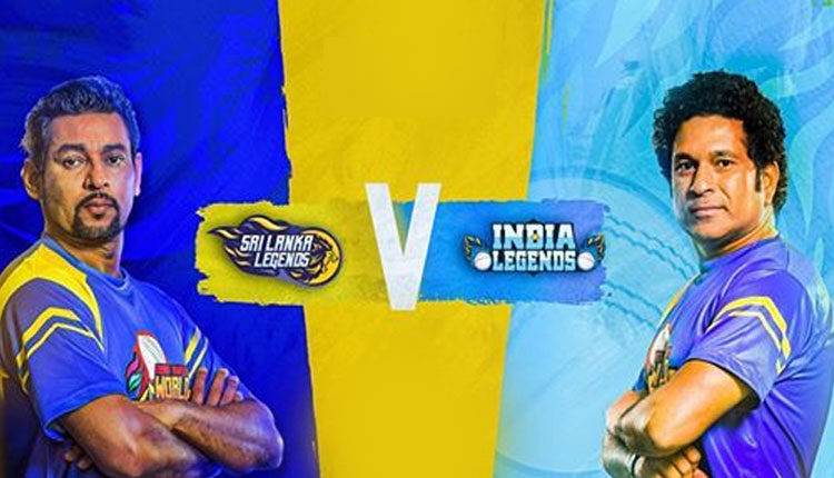 Sri Lanka Legends Vs India Legends