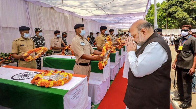 Amit Shah pays tribute