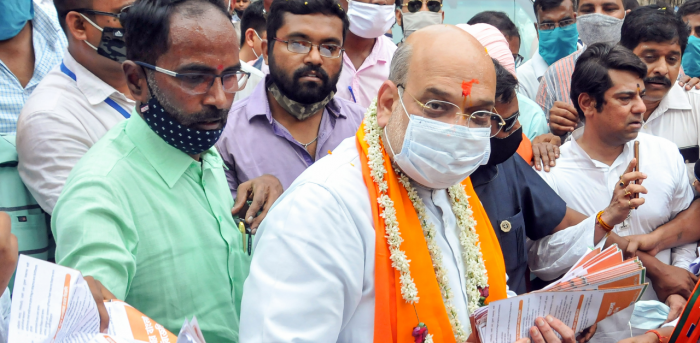 Amit Shah campaigned