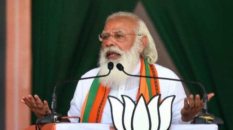 Modi addresses workers