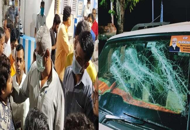 Attack on BJP leader Gajendra Singh