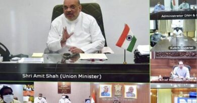 Amit Shah talks to Chief Ministers