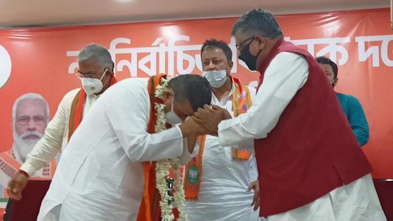 Suvendu Adhikari became
