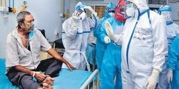 Active cases of coronavirus