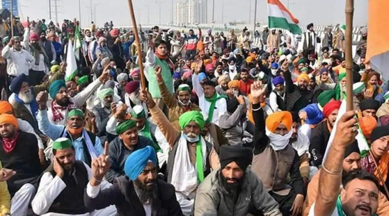 Farmers going to protest