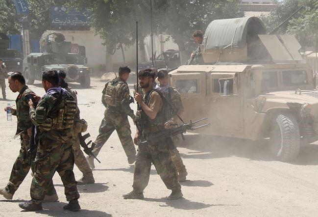 Afghan army recaptured