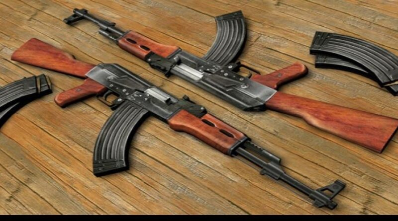 AK 47 rifle snatched from police