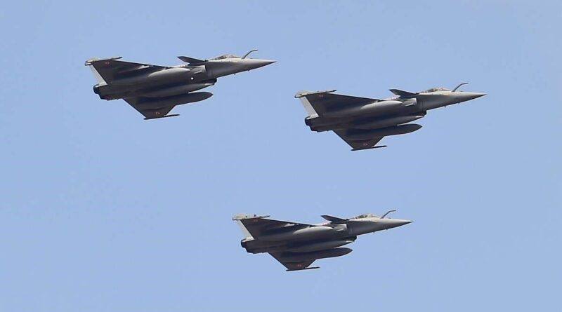 Three more Rafale fighter