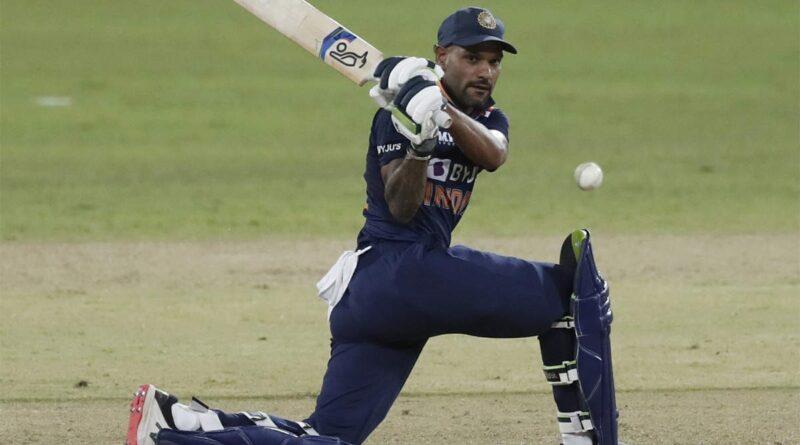 Shikhar Dhawan's 10,000 runs
