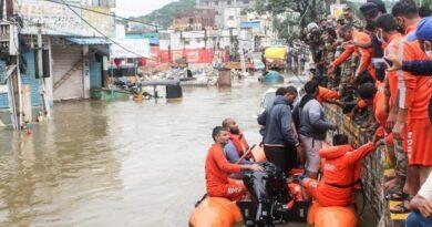 Floods in Telangana: