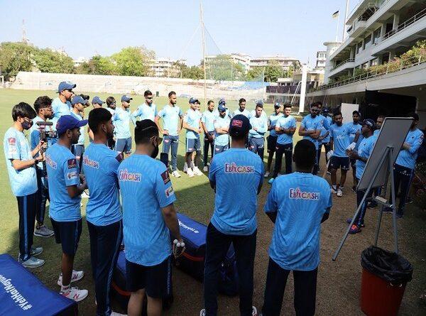 Delhi Capitals team will leave