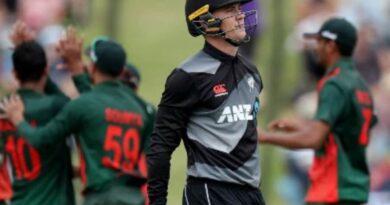 New Zealand's team piled