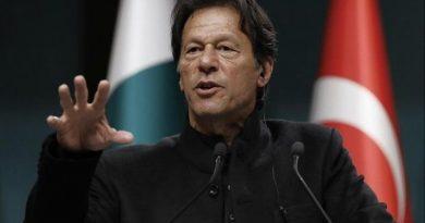 Imran Khan again raised