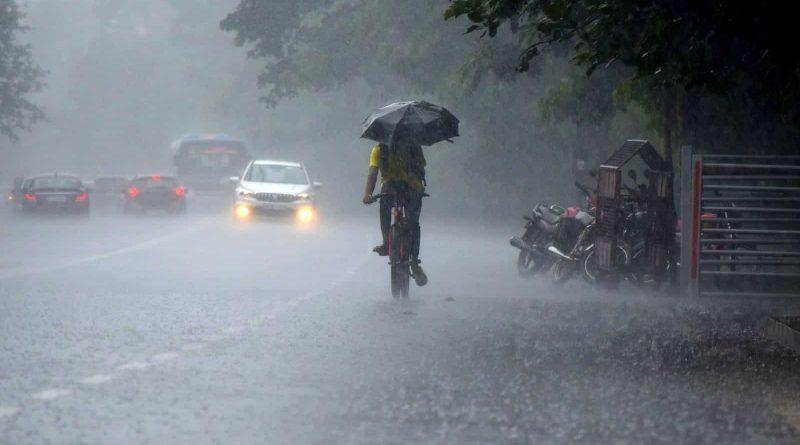Heavy rain may occur