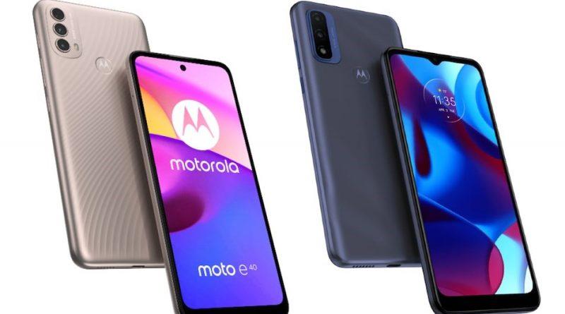 Moto E40 smartphone