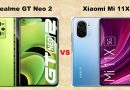 Realme GT Neo2 Vs Xiaomi Mi 11X: